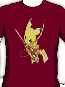 Pikachu Attack on Titan T-Shirt