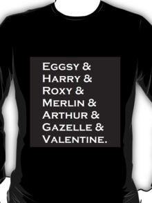 Kingsman Characters T-Shirt