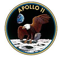 NASA Apollo 11 Mission Patch (Large) Photographic Print