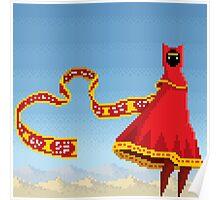 Journey Pixel Art Poster