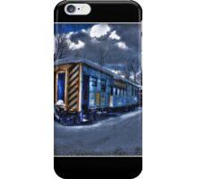 Moonlight Train Poster iPhone Case/Skin