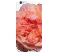 Pink Painted rose iPhone Case/Skin