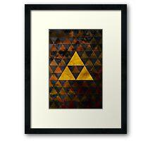 Geometric Ganondorf Framed Print