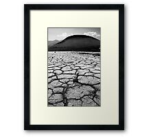 Playa and Cinder Cone in Mono  Framed Print