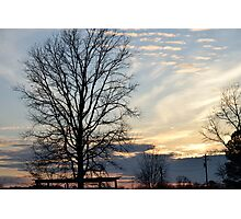 Sunset Seven Springs Photographic Print