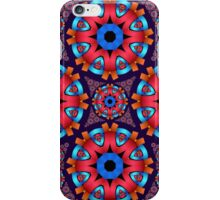 Colourful circles mandala iPhone Case/Skin