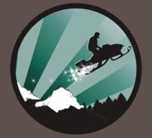 snowmobile : powder trail by asyrum
