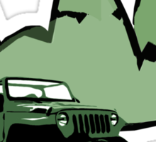 Jeeping It!: GREEN Sticker
