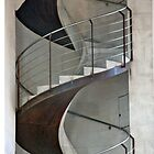 Corkscrew Staircase by phil decocco