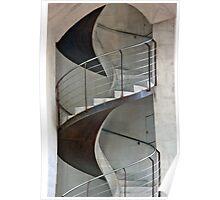 Corkscrew Staircase Poster