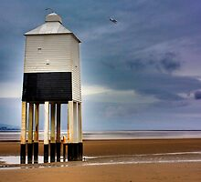 Burnham Low Lighthouse by Amanda White