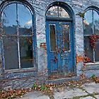 Old Blue Building by Ray4cam