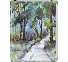 Another forest path iPad Case/Skin