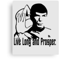 Live Long and Prosper Canvas Print