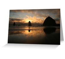 Creation At Twilight Greeting Card