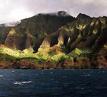 Na Pali Coastline V by Dennis Begnoche Jr.