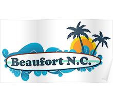 Beaufort - North Carolina. Poster