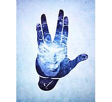 Spocks Hand - Leonard Nimoy Geek Tribute Photographic Print