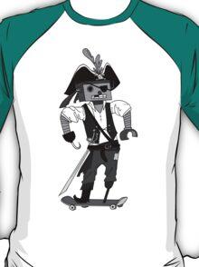 Robo Skate Pirate T-Shirt