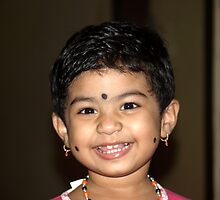 a godly smile... by chhaaya