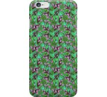 Pattern Flower [Green] iPhone Case/Skin