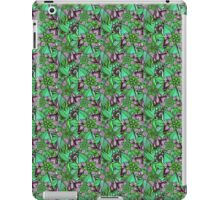 Pattern Flower [Green] iPad Case/Skin