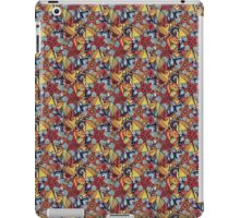Pattern Flower [Red] iPad Case/Skin