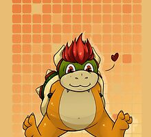 Chubby Chibi Bowser by Hot-Gothics