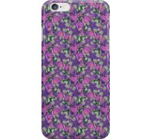 Pattern Flower [Purple] iPhone Case/Skin
