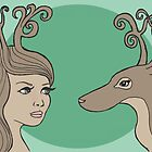 Antlers by Kathleen Donnelly