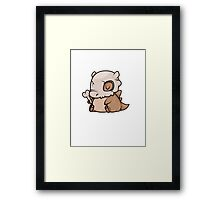 Mini Collection - Cubone Framed Print