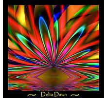 Delta Dawn Photographic Print
