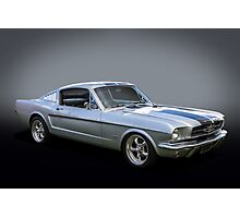 64 Fastback Photographic Print