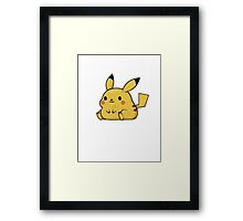 Mini Collection - Pikachu Framed Print