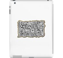Design 017s1 - by Kit Clock iPad Case/Skin