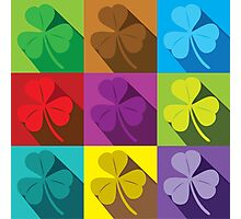 Shamrocks Photographic Print