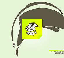 Character Calendar 2009 June by dojoartworks