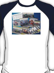 Australian MotoGP 2014 winners collection Rossi Lorenzo Smith Marq Marquez T-Shirt