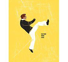 Hayden High Kick (V2) Photographic Print
