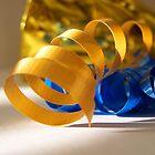Gold Ribbon by Shante' Mathes