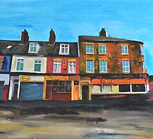 Hull, Further Down Anlaby Road by Andrew Reid Wildman