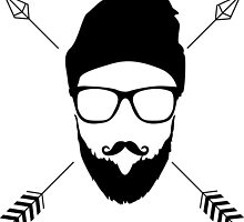 Hipster Emblem by unitycreative