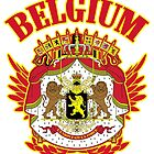 Belgium Coat of Arms by ukedward