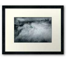 Mountain Mystery Framed Print