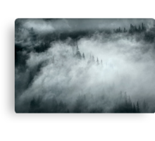 Mountain Mystery Canvas Print