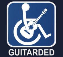 Guitarded Funny Guitar Design by movieshirtguy