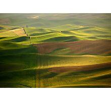 Green Ocean Photographic Print