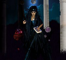 The High Priestess  by Lividly Vivid