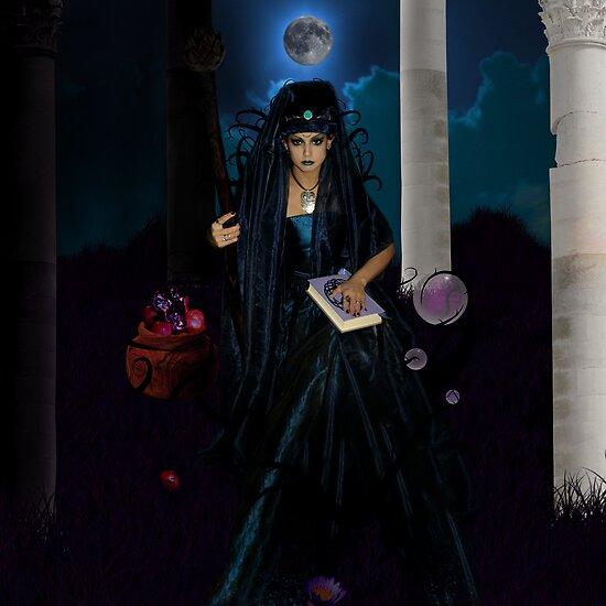 The High Priestess  by Lividly Vivid