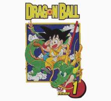 Dragon Ball - Volume 1 Cover by pesdav
